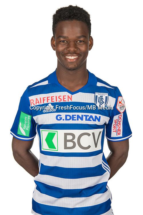 30.08.2016; Lausanne; Fussball Super League - Portrait FC Lausanne;<br /> Mvula Lotomba<br /> (HO/freshfocus)