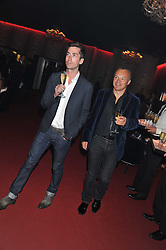 Left to right, ? and GRAHAM NORTON at a party hosted by Roberto Cavalli to celebrate his new Boutique's opening at 22 Sloane Street, London followed by a party at Battersea Power Station, London SW8 on 17th September 2011. and GRAHAM NORTON at a party hosted by Roberto Cavalli to celebrate his new Boutique's opening at 22 Sloane Street, London followed by a party at Battersea Power Station, London SW8 on 17th September 2011.