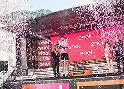 25.05.2017, Bormio, ITA, Giro d Italia 2017, 18. Etappe, Moena (Val di Fassa) nach<br />Ortisei/St. Ulrich (Val Gardena), im Bild Tom Dumoulin (NED, Team Sunweb) // during the 100th Giro d' Italia cycling race at stage 18 from Moena (Val di Fassa) to Ortisei/St. Ulrich (Val Gardena), Italy on 2017/05/25. EXPA Pictures © 2017, PhotoCredit: EXPA/ R. Eisenbauer