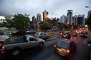 Belo Horizonte_MG, Brasil...Avenida do Contorno no Bairro Santo Antonio em Belo Horizonte, Minas Gerais...Contorno avenue in Santo Antonio neighborhood in Belo Horizonte, Minas Gerais...Foto: VICTOR SCHWANER / NITRO