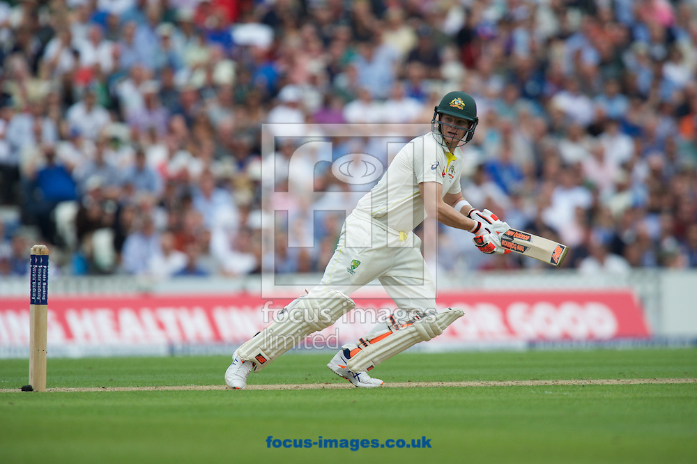 Steven Smith of Australia goes for a single during the 5th Investec Ashes Test Match match at the Kia Oval, London<br /> Picture by Alan Stanford/Focus Images Ltd +44 7915 056117<br /> 20/08/2015
