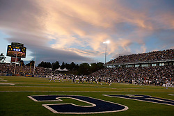 September 17, 2010; Reno, NV, USA; Interior view of Mackay Stadium during the game between the Nevada Wolf Pack and the California Golden Bears. Nevada defeated California 52-31.