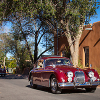 The Santa Fe to Cerrillos leg of the Mountain Tour, part of the 2013 Santa Fe Concorso.