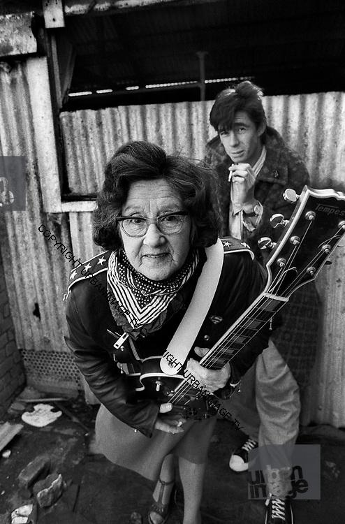 Jimmy Pursey, and Grandmother - Sham 69