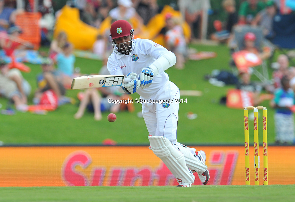 Denesh Ramdin of West Indies during the 2014 Sunfoil 1st Test match between South Africa and West Indies at the Supersport Park in Pretoria, South Africa on December 19, 2014 ©Samuel Shivambu/BackpagePix