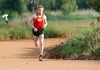 Friidrett<br /> 20.01.2006<br /> Foto: Hasse Sjøgren, Digitalsport<br /> NORWAY ONLY<br /> <br /> Marius Bakken på treningsleir i Dullstroom - Sør Afrika (2087 moh)
