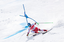 02.03.2020, Hannes Trinkl Weltcupstrecke, Hinterstoder, AUT, FIS Weltcup Ski Alpin, Riesenslalom, Herren, 2. Lauf, im Bild Marco Schwarz (AUT) // Marco Schwarz of Austria in acrion during his 2nd run of men's Giant Slalom of FIS ski alpine world cup at the Hannes Trinkl Weltcupstrecke in Hinterstoder, Austria on 2020/03/02. EXPA Pictures © 2020, PhotoCredit: EXPA/ Johann Groder