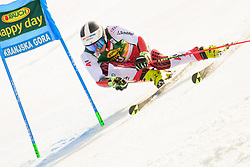 March 9, 2019 - Kranjska Gora, Kranjska Gora, Slovenia - Stefan Brennsteiner of Austria in action during Audi FIS Ski World Cup Vitranc on March 8, 2019 in Kranjska Gora, Slovenia. (Credit Image: © Rok Rakun/Pacific Press via ZUMA Wire)