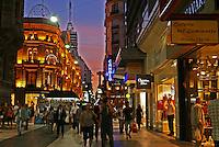 Calle Florida @ Sunset, El Centro, Buenos Aires