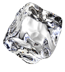 Ice cube crystal clear