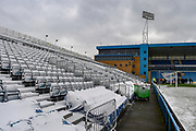 The Brian Moore stand (away supporters end) ahead of the EFL Sky Bet League 1 match between Gillingham and Blackburn Rovers at the MEMS Priestfield Stadium, Gillingham, England on 17 March 2018. Picture by Martin Cole.