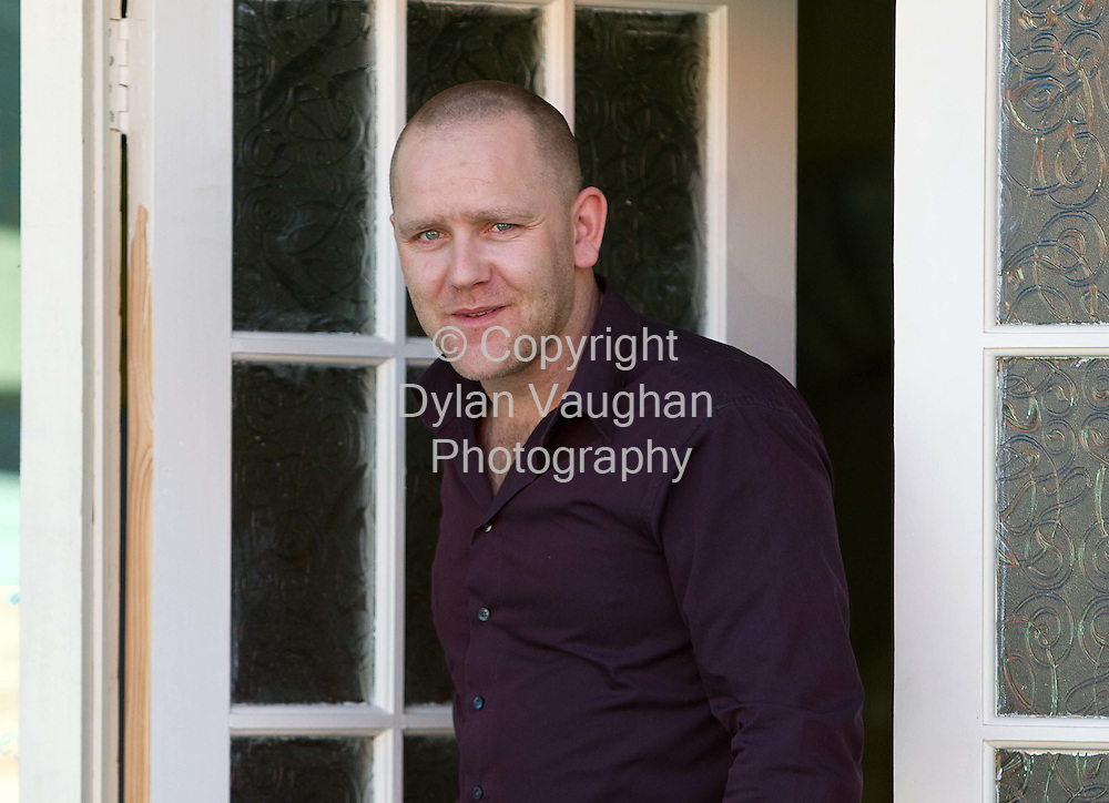 1/3/2010.Mark Furlng Lotto Winner pictured leaving his work place Nursery Rhymes in Waterford yesterday..Picture Dylan Vaughan.