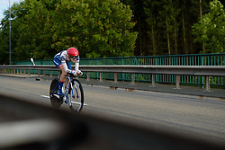 Nicole Hanselmann (Cervélo Bigla) at Thüringen Rundfarht 2016 - Stage 4 a 19km time trial starting and finishing in Zeulenroda Triebes, Germany on 18th July 2016.