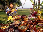 Sam Choy, Luau food, Hawaii