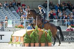 Benatti Stella (ITA) - Zaron <br /> Cross country<br /> CCI3*  Luhmuhlen 2014 <br /> © Hippo Foto - Jon Stroud
