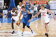 DESCRIZIONE : Cagliari Eurobasket Men 2009 Additional Qualifying Round Italia Francia<br /> GIOCATORE : Stafno Mancinelli<br /> SQUADRA : Italy Italia Nazionale Maschile<br /> EVENTO : Eurobasket Men 2009 Additional Qualifying Round <br /> GARA : Italia Francia Italy France<br /> DATA : 05/08/2009 <br /> CATEGORIA : palleggio penetrazione<br /> SPORT : Pallacanestro <br /> AUTORE : Agenzia Ciamillo-Castoria/C.De Massis