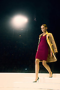 Model on the runway at a fashion show