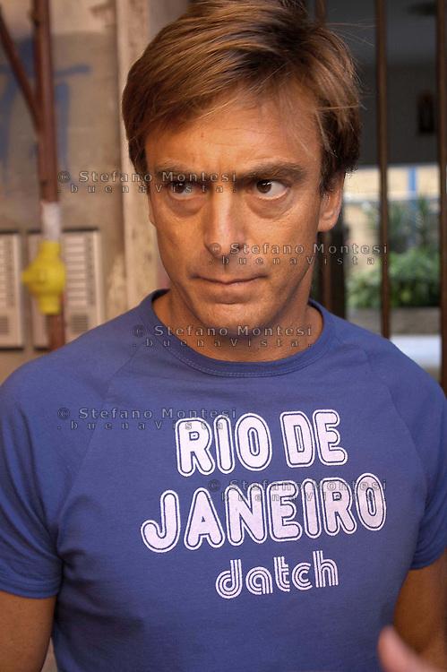 Roma   9 Settembre 2004 .Orlando Corsetti, Presidente del III Municipio