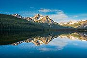 The Sawtooth Mountain Range in central Idaho.
