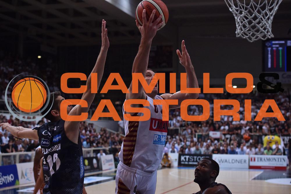 Bramos Michael<br /> Dolomiti Energia Trento - Umana Venezia<br /> Finale Gara 6<br /> Legabasket A 2016/2017<br /> Trento 20/06/2017<br /> Foto Ciamillo-Castoria