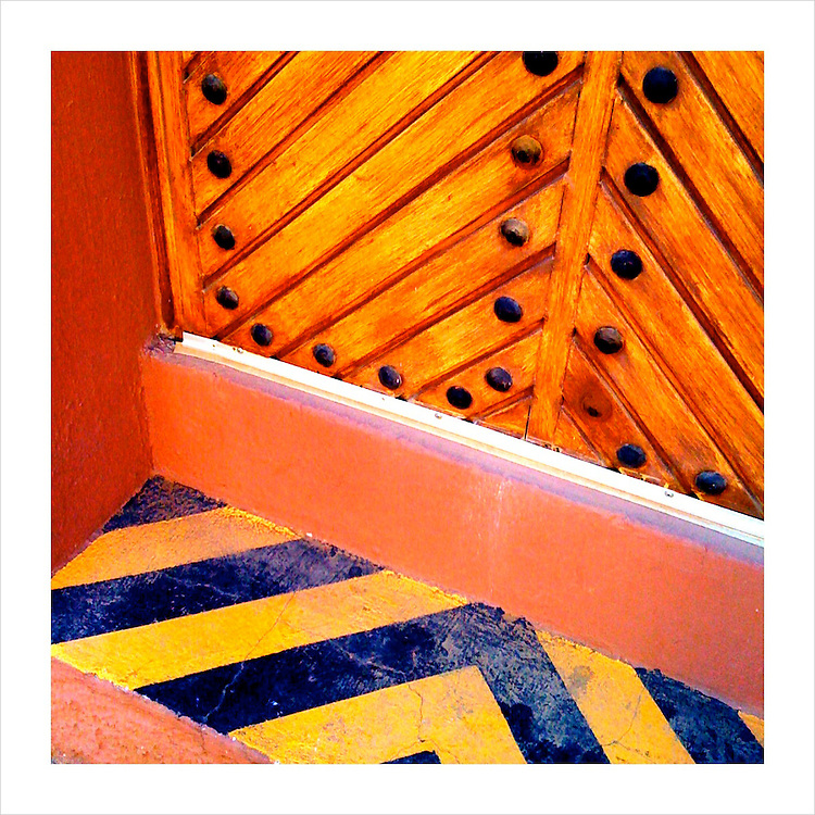 Watch Your Step. Tequila, Mexico. 4/16/09 (iPhone image) --- Image created for http://tastetequila.com