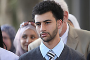 Osama Shabaik, one of the ten Muslim students from the University of California, Irvine, guilty of disrupting a February 2010 speech at the university's campus by Michael Oren, Israeli ambassador to the United States. Orange County Superior Court Judge Peter Wilson sentenced each student to three years of probation, 56 hours of community service, and ordered each to pay $270 in fines.