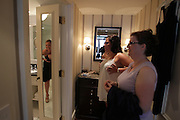 Boston, MA 081410  Wedding of Sue DiMaggi and Dan Warren at Four Seasons Hotel and Roxbury church on August 14, 2010. (Essdras M Suarez/ EMS Photography)