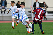 02.04.2017; Zuerich; <br /> Fussball FCZ Academy Letzikids - FC Zuerich U9 - FC Basel; <br /> <br /> (Andy Mueller/freshfocus)
