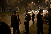 The 30th White Knights charity  Ball.  Grosvenor House Hotel. Park Lane. London. 10 January 2009