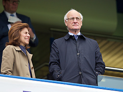 LONDON, ENGLAND - Sunday, May 3, 2015: Chelsea's chairman Bruce Buck during the Premier League match against Crystal Palace at Stamford Bridge. (Pic by David Rawcliffe/Propaganda)