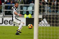04.02.2018 - Torino - Serie A 2017/18 - 23a giornata  -  Juventus-Sassuolo nella  foto: Gonzalo Higuain segna il gol del 6 a 0