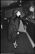 Princess Caroline of Monaco, Whitbread Brewery, London. 5 March 1984.