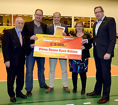 20141230 NED: Eurosped Volleybal Experience Nevobo Volleybal Award, Almelo
