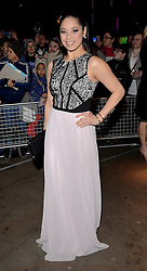 Eva Noblezada attends The 10th What's On Stage Awards at The Prince Of Wales Theatre, London on Sunday 15  February 2015