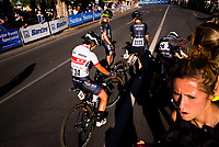 Women finish their race at the Peoples Choice Classic criterium at the start of the Tour Down Under, Australia on the 14 of January 2018 ( Credit Image: © Gary Francis / ZUMA WIRE SERVICE )
