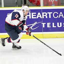 COBOURG, - Dec 14, 2015 -  Game #3 - United States vs Czech Republic at the 2015 World Junior A Challenge at the Cobourg Community Centre, ON. Jake Wahlin #20 of Team United States skates after the puck during the second period.(Photo: Tim Bates / OJHL Images)