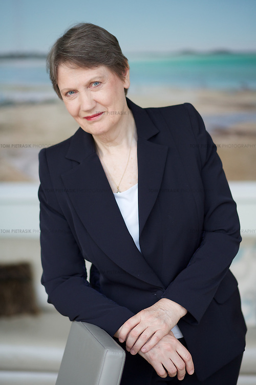 Helen Clark, Administrator of the United Nations Development Programme (UNDP), and former Prime Minister of New Zealand is one of the shortlisted candidates for the position of UN Secretary General. <br /> <br /> Photo: Tom Pietrasik<br /> New York, NY, USA <br /> July 18th 2016