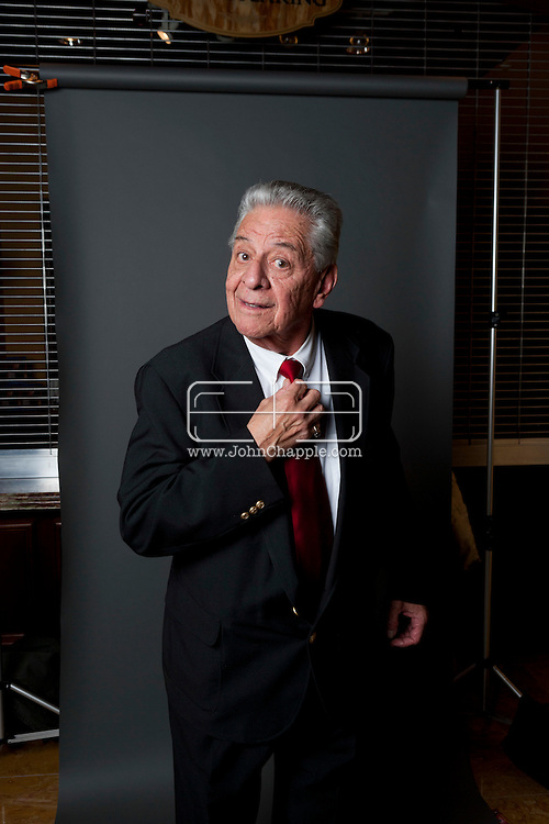 February 20th, 2012, Las Vegas, Nevada. The 21st Annual Reel Awards in Las Vegas where celebrity lookalikes show off their talents. Pictured is Rod Rodriguez as Rodney Dangerfield..PHOTO © JOHN CHAPPLE / www.johnchapple.com.