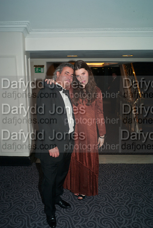 MANUEL PINTO RIBIERO; LILY LEWIS, Game & Wildlife Conservation Trust's Ball. Savoy Hotel. London. 6 November 2013.