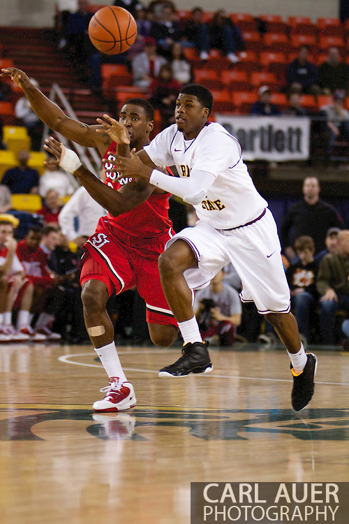 November 27th, 2010:  Anchorage, Alaska - Arizona State's Carrick Felix has the ball poked away from him in the Sun Devil's 58-67 loss to St. Johns in the championship game of the Great Alaska Shootout.