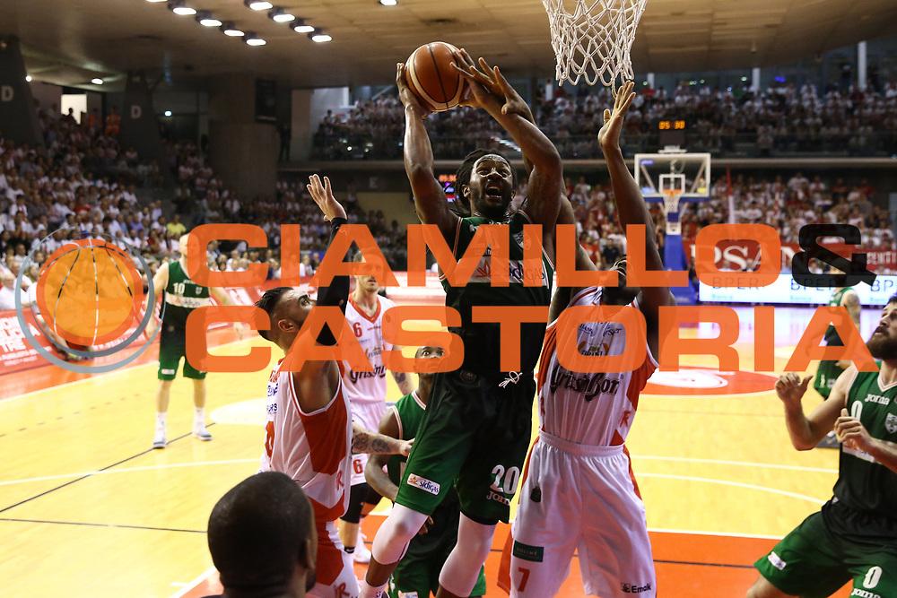 Randolph Levi<br /> Grissin Bon Reggio Emilia - Sidigas Avellino<br /> Playoff gara 3<br /> Legabasket A 2016/2017<br /> Reggio Emilia 17/05/2017<br /> Foto Ciamillo-Castoria