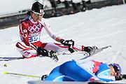 "Masako Ishida (JPN), <br /> FEBRUARY 13, 2014 - Cross Country Skiing : <br /> Women's 10km <br /> at ""LAURA"" Cross-Country Ski & Biathlon Center <br /> during the Sochi 2014 Olympic Winter Games in Sochi, Russia. <br /> (Photo by Yohei Osada/AFLO SPORT)"