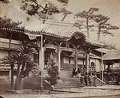Diaonji Temple at Nagasaki 1864