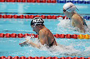 New Zealand's Zoe Baker in action in the womens 50m breatstroke semi-final during the swimming at the Melbourne Sports & Aquatic Centre during day one at the XVIII Commonwealth Games, Melbourne, Australia, Thursday, March 16 2006. Photo: Michael Bradley/PHOTOSPORT<br /><br /><br /><br />149765