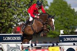 Bucci Piergiorgio, (ITA), Casallo Z <br /> Furusiyya FEI Nations Cup of Belgium<br /> Longines Spring Classic of Flanders - Lummen 2015<br /> © Hippo Foto - Leanjo de Koster<br /> 01/05/15
