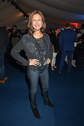 KATIE DERHAM at the World's Greatest Quiz Night in aid of the Quintessentially Foundation and Dimbleby Cancer Care held at the Riverside Parliament Panorama marquee at St Thomas' Hospital, Westminster Bridge Road, Londonon 15th September 2015.
