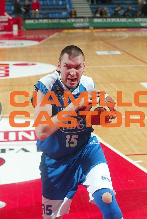 DESCRIZIONE : Pesaro Serie B 2005-06 ABC Utensili Varese Centro Sedia Basket Corno di Rosazzo <br /> GIOCATORE : Corti <br /> SQUADRA : ABC Utensili Varese <br /> EVENTO : Campionato Serie B 2005-2006 Coppa Italia Finale <br /> GARA : ABC Utensili Varese Centro Sedia Basket Corno di Rosazzo <br /> DATA : 11/04/2006 <br /> CATEGORIA : <br /> SPORT : Pallacanestro <br /> AUTORE : Agenzia Ciamillo-Castoria/M.Marchi