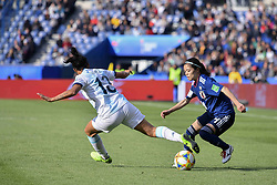 June 10, 2019 - Paris, ile de france, France - Saki KUMAGAI (JPN) in Action during the match between Argentina and Japan at the 2019 World cup  on June 10, 2019, at the Parc des Princes stadium in Paris, France. (Credit Image: © Julien Mattia/NurPhoto via ZUMA Press)