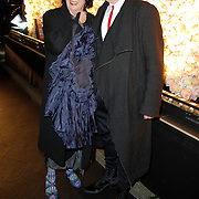 NLD/Amsterdam/20120320 - Onthulling Vogue, Jan Jansen en partner ..