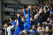 Pompey fans in celebratory mood during the EFL Sky Bet League 1 match between Portsmouth and Sunderland at Fratton Park, Portsmouth, England on 22 December 2018.